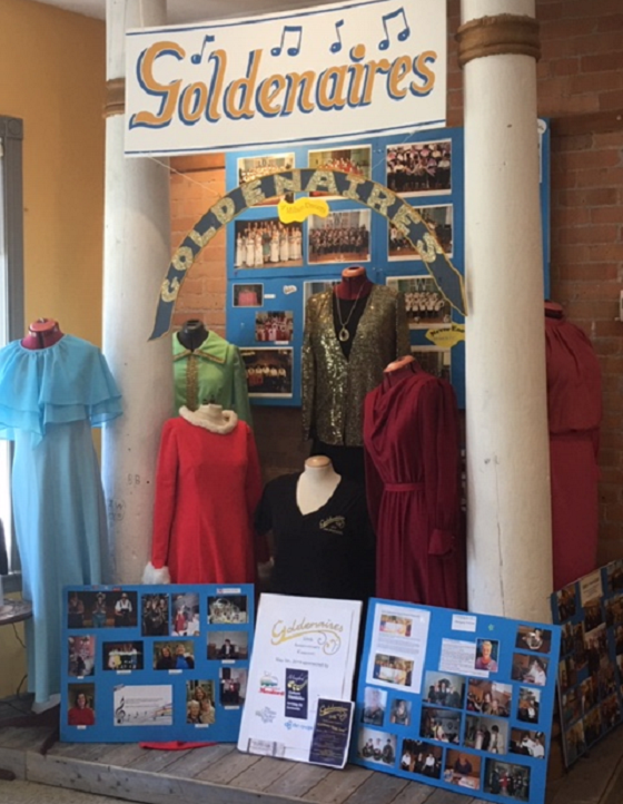 Goldenaires Display Meaford Museum