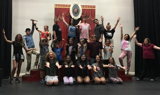 Snow white theatre camp