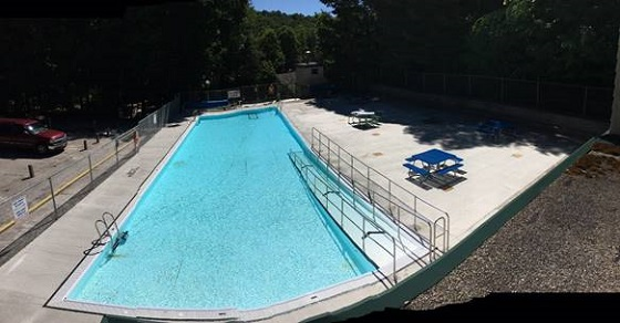 Harrison Park swimming pool