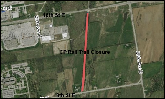 CP Rail trail closed