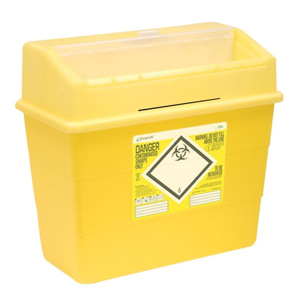 Sharpsafe-30-Litre-Sharps-Disposal-Units-Pack-of-10