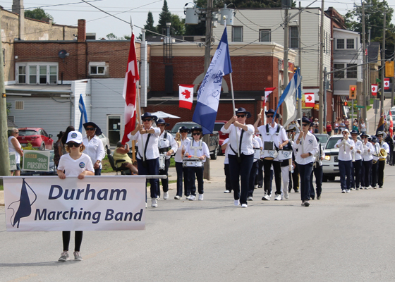 Durham-Marching-Band-on-Parade