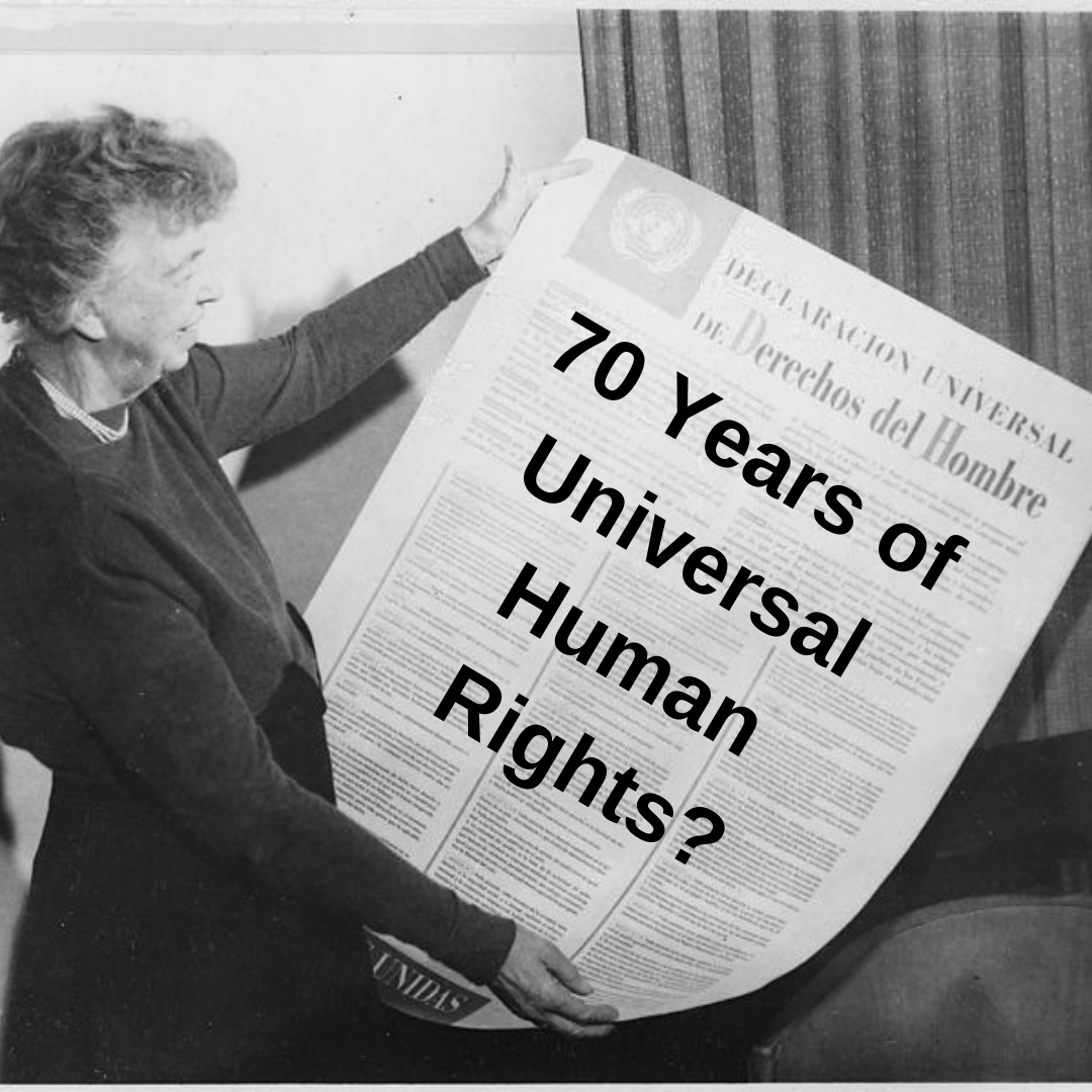 70 years of Universal Human Rights