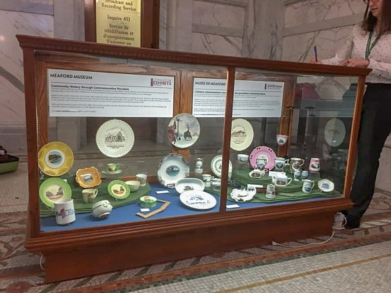 Meaford Museum Exhibit at Queens Park 1