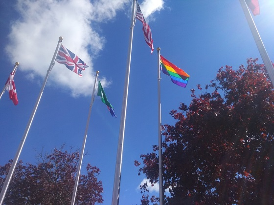 Meaford Pride Flag