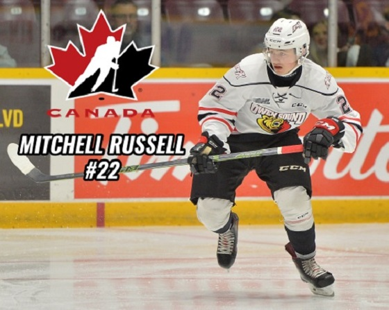 mitchell russell team canada