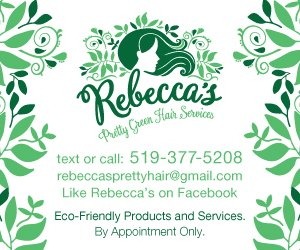 Rebecca's Pretty Green Hair Services