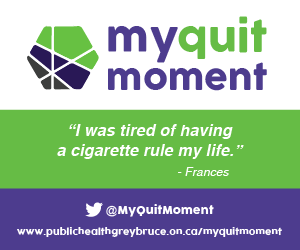 Public Health Grey Bruce My Quit Moment