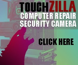Touchzilla computer repairs