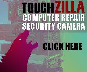 Touchzilla computer repairs