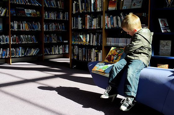 librarychild