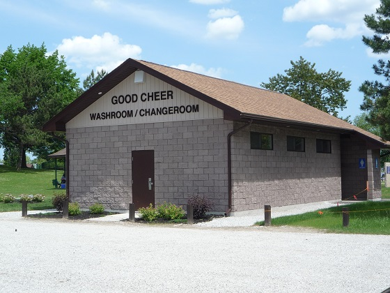 Good Cheer Washroom  Changeroom