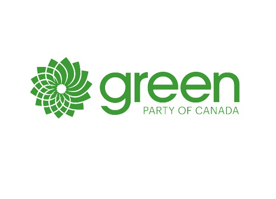 green party of can logo