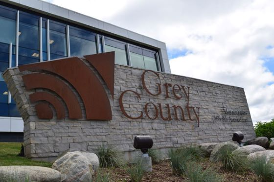 Grey County sign