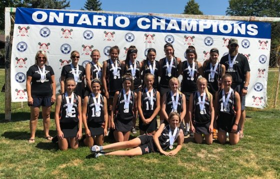 u15 ladies lacrosse silver
