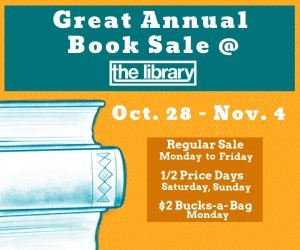 Annual Library book sale